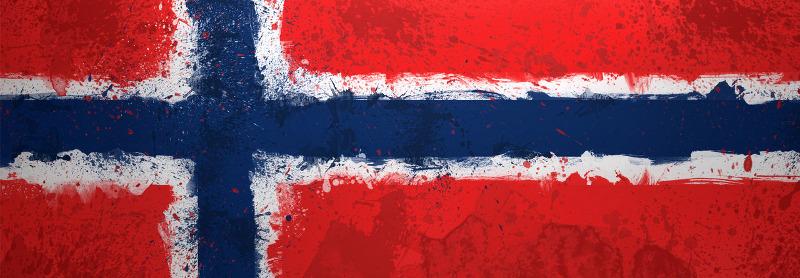 Norvège, drapeau