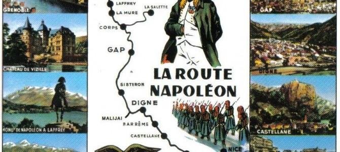 Sur la Route Napoléon ! (2):  De Golfe Juan à Grenoble…
