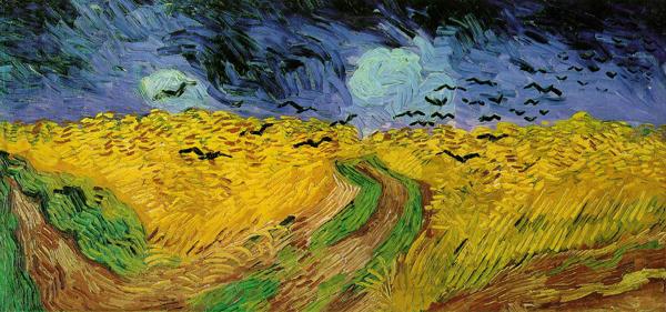 Champ de blé aux corbeaux est une peinture à l'huile réalisée par le peintre Vincent van Gogh en juillet 1890