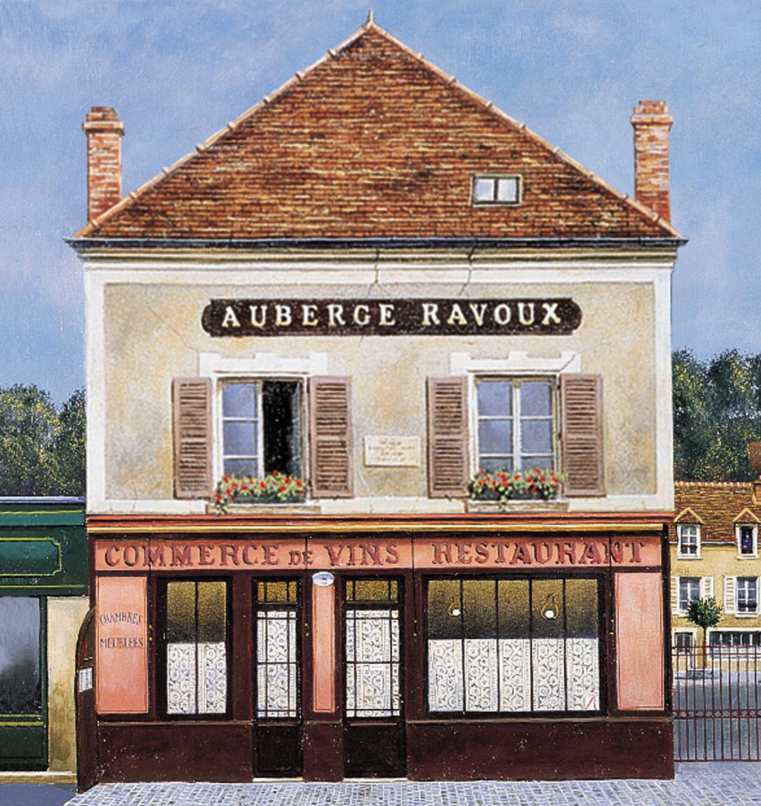 AubergeRavoux-100-Façade-Ravoux-dessin-ht-def@InstitutVanGogh