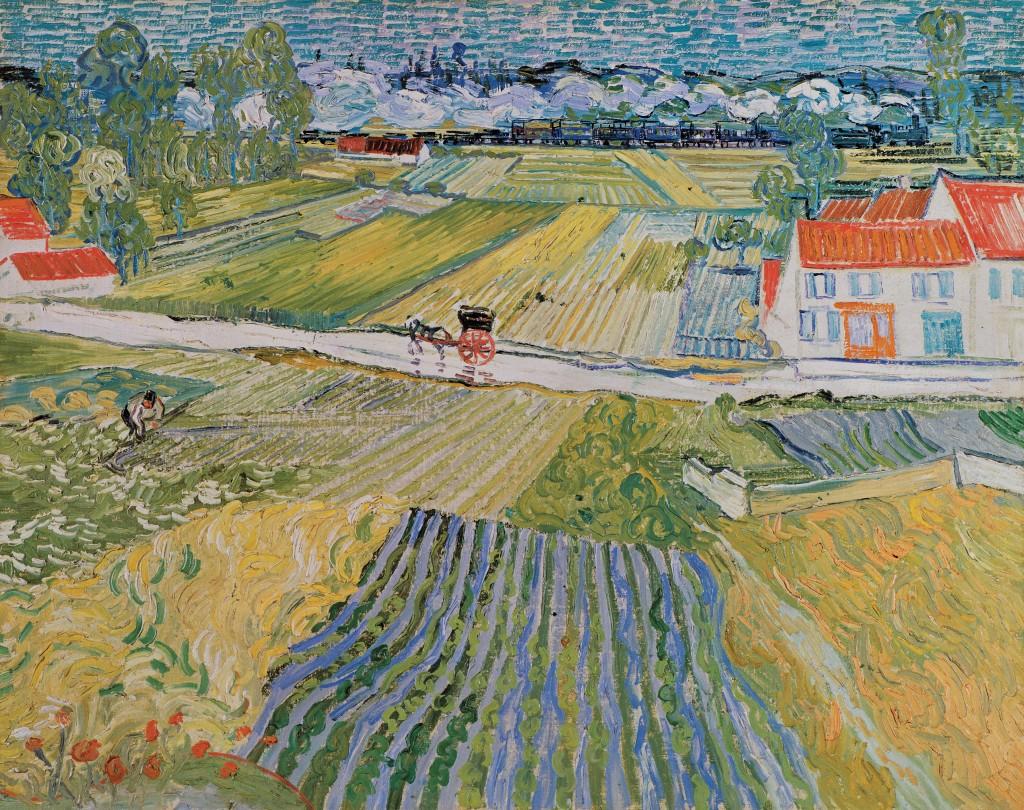 Paysage à Auvers - Vincent van Gogh/Juillet 1890