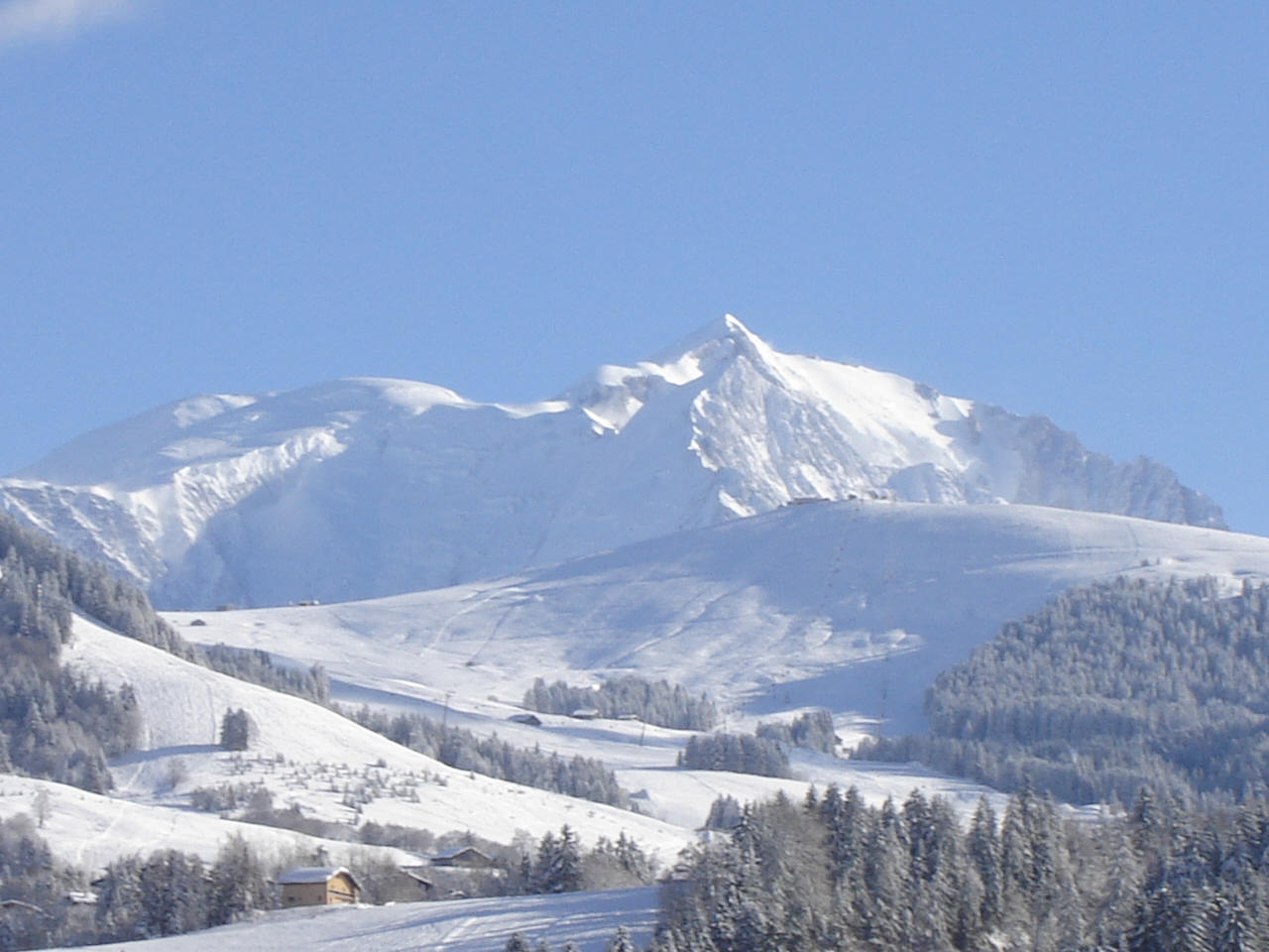 Megève, ski