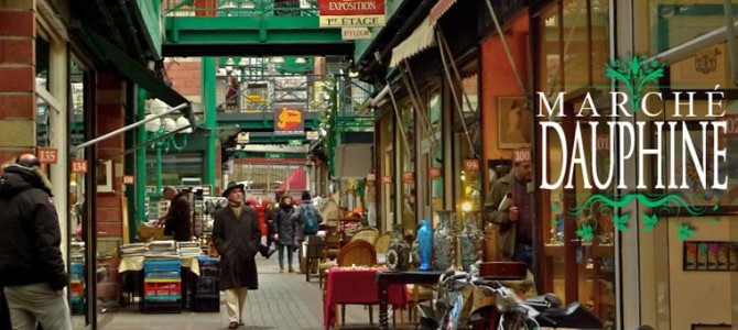 Un petit saut aux Puces du Marché Dauphine/Paris-Saint-Ouen ! (1/2)