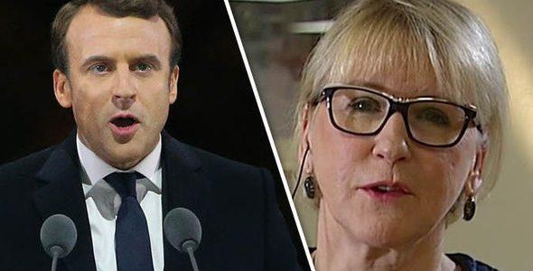 #Suède/France #géopolitique: différence de genres !