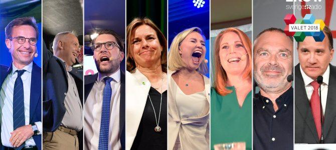 3 semaines plus tard, la Suède en plein maëlström ! #svpol #élections