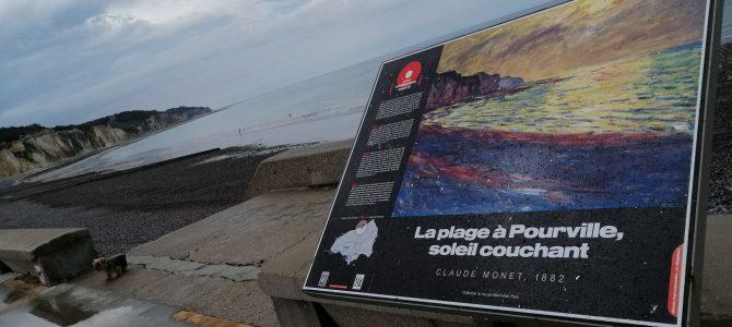 Dans notre nouvelle série « A plus ou moins 100 »: Les Suédois Zorn et Ekström dans les traces de Monet en Normandie !