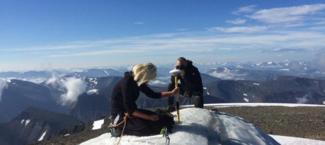 #tourisme #patrimoine: La Suède et son glacier Rabot(é) !