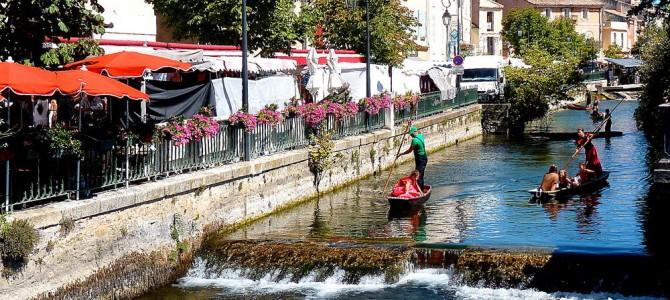 L'Isle sur la Sorgue, résidence secondaire d'Avignon…!