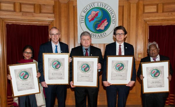 Right Livelihood Award 2014