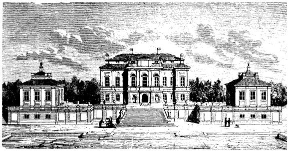 Le château de Steninge