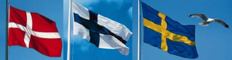 drapeaux nordic
