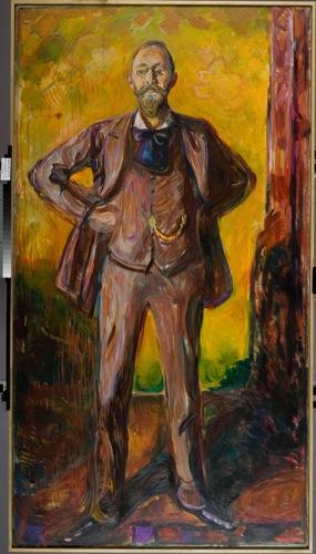 Edvard Munch -  Daniel Jacobson, 1908-09
