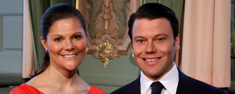 Victoria Bernadotte et son fiancé, le roturier Daniel Westling